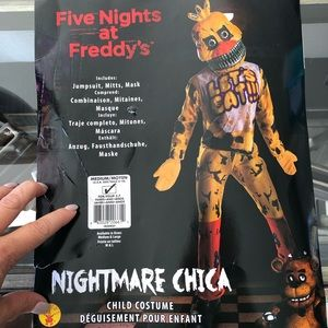 Five Nights at Freddy's Nightmare Chica costume